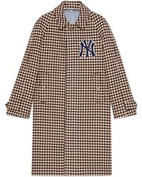 Gucci - Manteau homme avec empiècements NY YankeesTM - Lyst