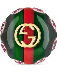 Gucci - Vintage Web Ring - Lyst