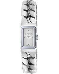 Gucci - G-frame Watch, 14x25mm - Lyst