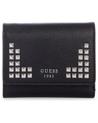 Guess - Gabi Small Trifold Wallet - Lyst