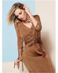Guess - Joni Sweater Maxi Dress - Lyst