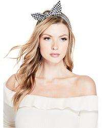 Guess - Terri Fabric Headband Set - Lyst
