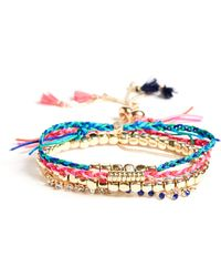Guess - Ensemble De Bracelets D'amitié Brit - Lyst
