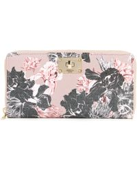 Guess Carnivale Large Zip Around Wallet