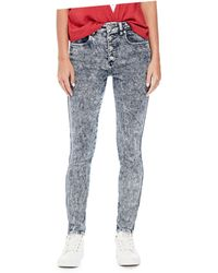 Guess - Originals 1981 Button-front Skinny Jeans - Lyst