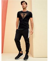 Guess - Keith Color-block Joggers - Lyst