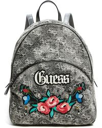 Guess - Badlands Denim Backpack - Lyst