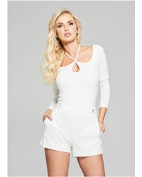 Guess - Cecily Long-sleeve Top - Lyst
