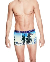 Guess - Stretch Cotton Trunks - Lyst