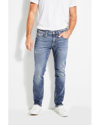 Guess - Slim Straight Jeans - Lyst