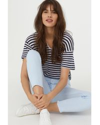 H&M - Slim Ankle Jeans - Lyst