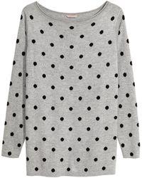H&M - + Fine-knit Jumper - Lyst