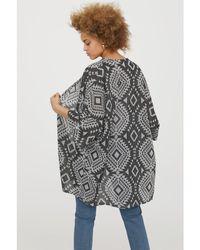 H&M - Jacquard-knit Kaftan - Lyst