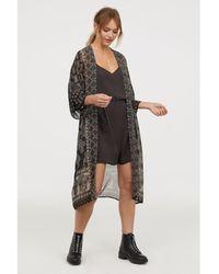 H&M - Patterned Kimono - Lyst
