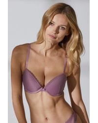 2822001ad7 Lyst - H M 2-pack Push-up Bras in Blue