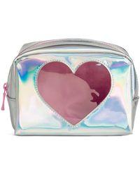 H&M - Shimmering Make-up Bag - Lyst