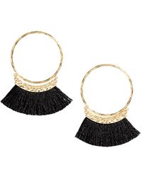 H&M - Earrings With Fringes - Lyst