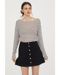 H&M - Fine-knit Jumper - Lyst
