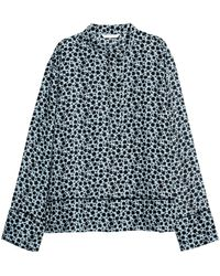 H&M - Patterned Blouse - Lyst