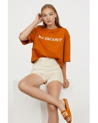 H&M - Denim Shorts - Lyst