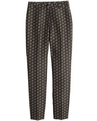 H&M - Jacquard-patterned Trousers - Lyst