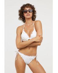 H&M - Padded Underwired Bikini Top - Lyst
