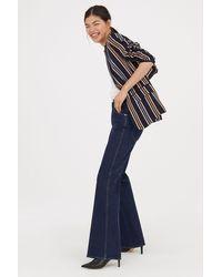H&M - Striped Jacket - Lyst