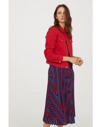 H&M - Denim Jacket - Lyst