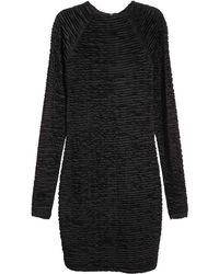 H&M - Gathered Dress - Lyst