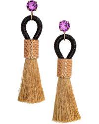 H&M - Tasseled Earrings - Lyst