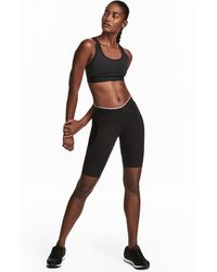 H&M - Compression Fit Running Tights - Lyst