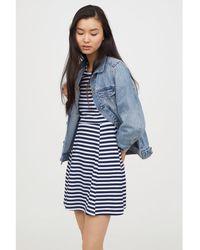H&M - Jersey Dress - Lyst