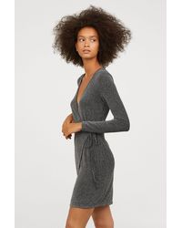 H&M - Wrap Dress - Lyst