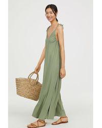 H&M - Oversized Maxi Dress - Lyst