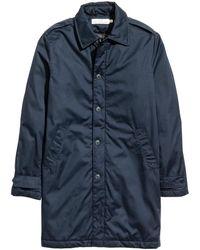 H&M   Padded Coat   Lyst