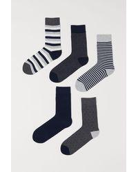 H&M - 5-pack Socks - Lyst