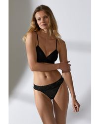 H&M - 2-pack Lace Thong Briefs - Lyst