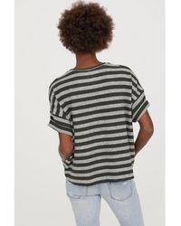 H&M - Short-sleeved Jumper - Lyst