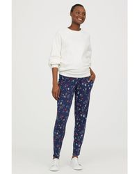 H&M - Mama Jersey Trousers - Lyst