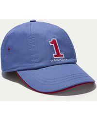 Hackett - Embroidered Cotton Cap - Lyst
