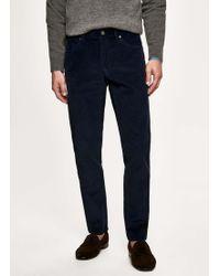 Hackett - Corduroy Five Pocket Trousers - Lyst
