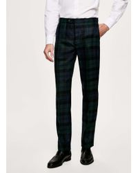 Hackett - Blackwatch Tartan Wool Trousers - Lyst