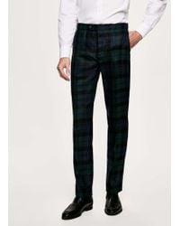 Hackett - Blackwatch Tartan Wool Trousers - Lyst