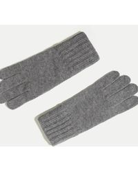 Hackett - Knit Touch Gloves - Lyst