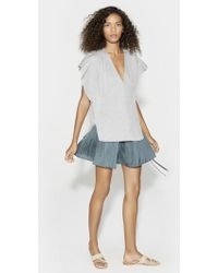 Halston - Ruched Top - Lyst