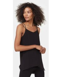 Halston - Double Strap Camisole - Lyst