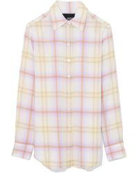 Marc Jacobs - Plaid Button Down Shirt In Yellow Multi - Lyst