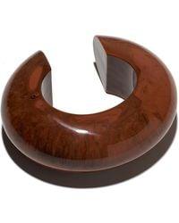 Lizzie Fortunato - Arc Cuff In Chocolate - Lyst