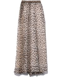 Forte Forte - Savage Vanity Print Long Skirt In Desert - Lyst