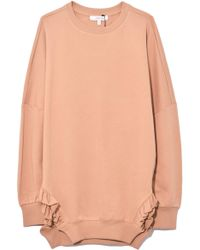 Dorothee Schumacher - Cosy Casual Sweatshirt In Sensitive Camel - Lyst